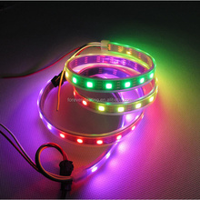 LED dream color strip,WS2812B Addressable Color LED Light Strip 60 Pixel 5050 RGB SMD WS2811 IC