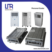 home air cooler plastic injection mould by mold making in Huangyan