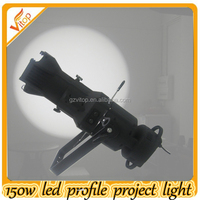 guangzhou christmas decoration 150w led profile project light