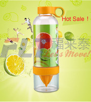 830ml good plastic fruit infuser water bottle for healthy Drinking