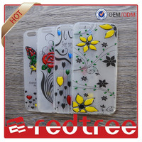 newest epoxy fashion 3d cell phone case for iphone 6 6+