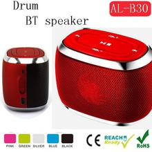 Mini speaker drum design portable mini speaker mini music car speaker manual