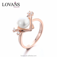 Gold Finger Ring Rings Design For Women With Price Factory Direct SRK021W