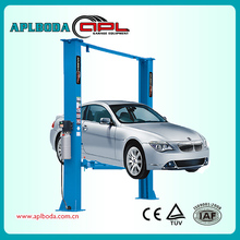Utilitarian CE approve manual lock release car washing lift for car lifting model