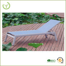 2015 Beach sun bed -Aluminum folding beach sun bed/chaise lounge chair