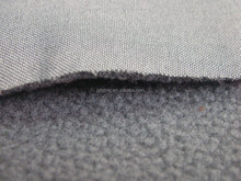 Polyester spandex fabric polar fleece bonded fabric
