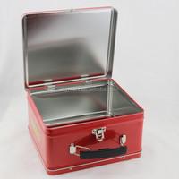 Customized blank lunch box metal tin box, tin can design