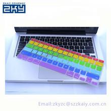 OEM custom colorful silicone keyboard cover for mac silicone keyboard covers with factory price