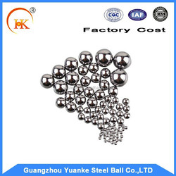 Widely used in bearings and other industrial fields for 2mm chrome steel ball