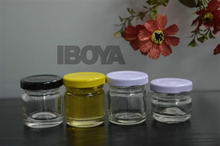 1.5oz-2oz Small Honey Containers with Crown Cap
