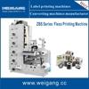 label flexo printing machine / printing machine