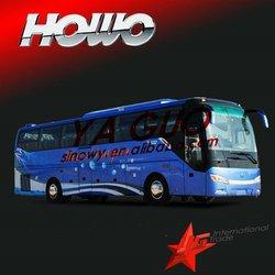 Howo 2012 JK6127HK tourist better than nissan civilian bus