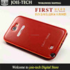 competitive price metal frame resin backboard case for Samsung Galaxy Note 2