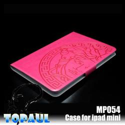 for ipad mini case,hot selling leather case For iPad Custom Case