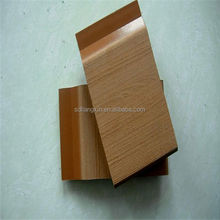 PVC wall panels made from plastic composite