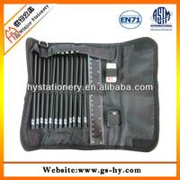 High quality 600D top grade pencil case for men