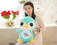 2014 hot sale Christmas stuffed penguin plush toy