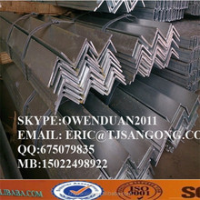 12m length galvanized angle steel bar with PFC certificate