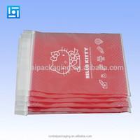 custom printed poly PE LDPE ziplock plastic bags ,plastic bag with zipper,reclosable decorative ziplock bag