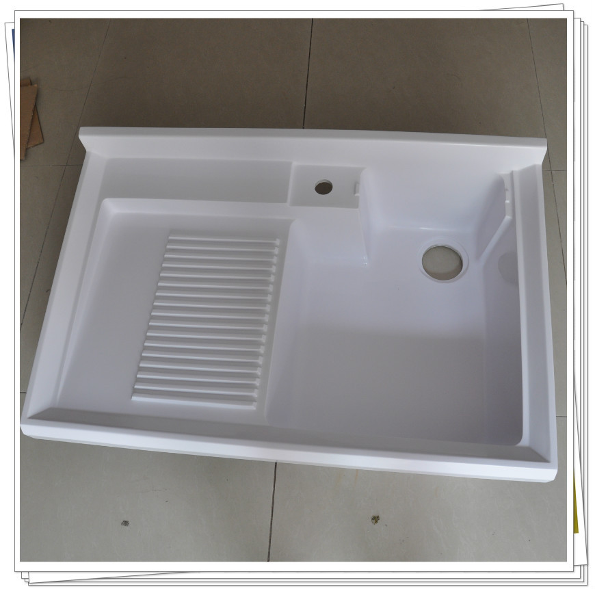 Utility Sink Porcelain : ... laundry sink cabinet with porcelain sink deep sink for laundry made in
