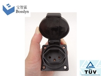 New style cheapest waterproof pcb type relay socket