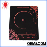 China manufacturer induction cooker 2200W national induction cooker ceramic glass induction and halogen cooker