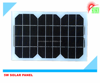 12V 5W Mono/Poly solar panel