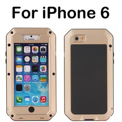 High quality Aluminum Metal Case Cool design mobile phone Cases cover for iphone 6, Mobile phone accessories for iphone 6