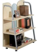 Portátil muebles para el hogar de madera estante de libros para los niños