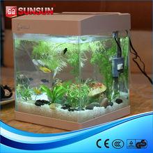 SUNSUN plastic Aquarium Fish Tank desk nano tank
