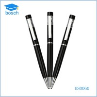 Hot-Selling Stylish Metal Cross Ball Pen Slim/Free Sample Black Ball Pen