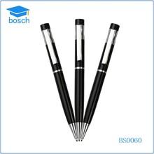 Hot-Selling Stylish Metal Cross Ball Pen Slim/Free Sample Black Ball Pen