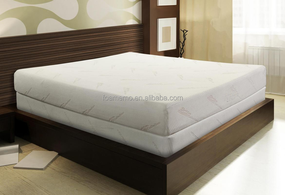 Bed Mattress Gel Memory Foam Mattress Bamboo Mattress