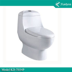 cheap white ceramic bowl , siphon jet one piece toilet , wc toilet