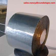 Aluminum coating modified bitumen adhesive flash tape