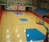 Indoor PVC basketball court sports floor in rolls