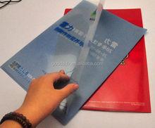 Hot Sell Full Color Logo Printing a4 file / hard cover file folder / plastic file cover
