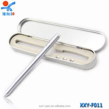 Flexible led metal screen stylus roller ball pen
