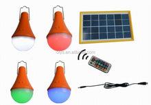 Solar LED RGB color light