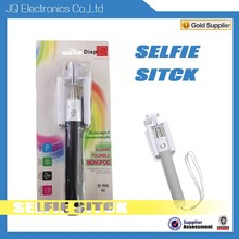 2015 Foldable All in One selfie stick,bluetooth selfie stick monopod