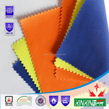 fabric factory 380gram 100 cotton flame resistant fire retardant duck canvas fabric for safety workwear