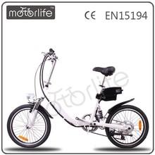 "MOTORLIFE /OEM 36v 250w 20"" electric dirt bike with battery"