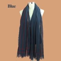 2015NEW!Fashion Desigual Solid Color Plaid Scarf New Designer Unisex Cotton Scarves Muslim Hijab Soft Wrap 90CM*200CM a013