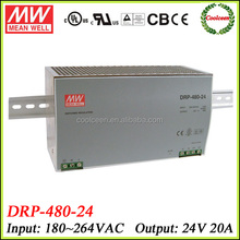 Meanwell switching power supply 480w DRT-480-24