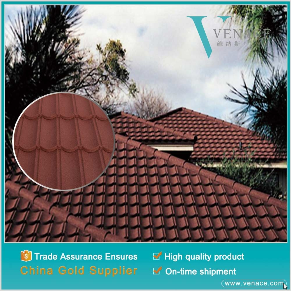Modern roofing art decor aluzinc roof sheets types of roof for Types of roof covering materials