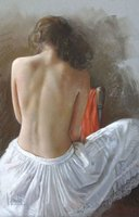 hot sale nude lady oil painting