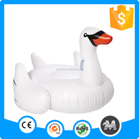 60inch and 75inch custom giant inflatable water swan float