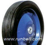 12 inch solid rubber tires