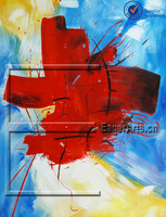 Hand Painted Decorative Oil Painting Abstract Art