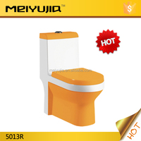 5013R Saving Water Hot Sale Ceramic Siphonic One Piece Colored Toilet